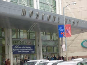 The Moscone Conference Center, location of the AGU Fall Meeting