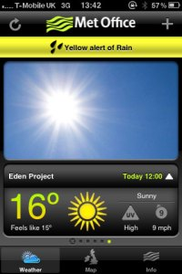 Met Office shortlisted in Appster awards | Official blog of