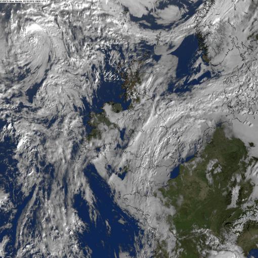This morning's satellite image