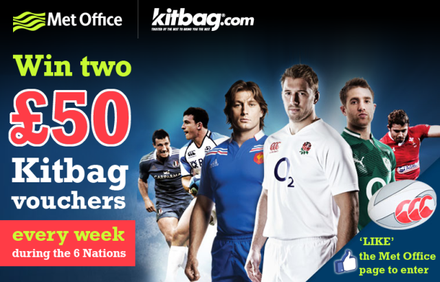 6 Nations Kitbag competition