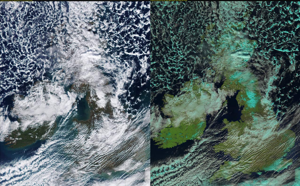 Today's weather from above | Official blog of the Met Office