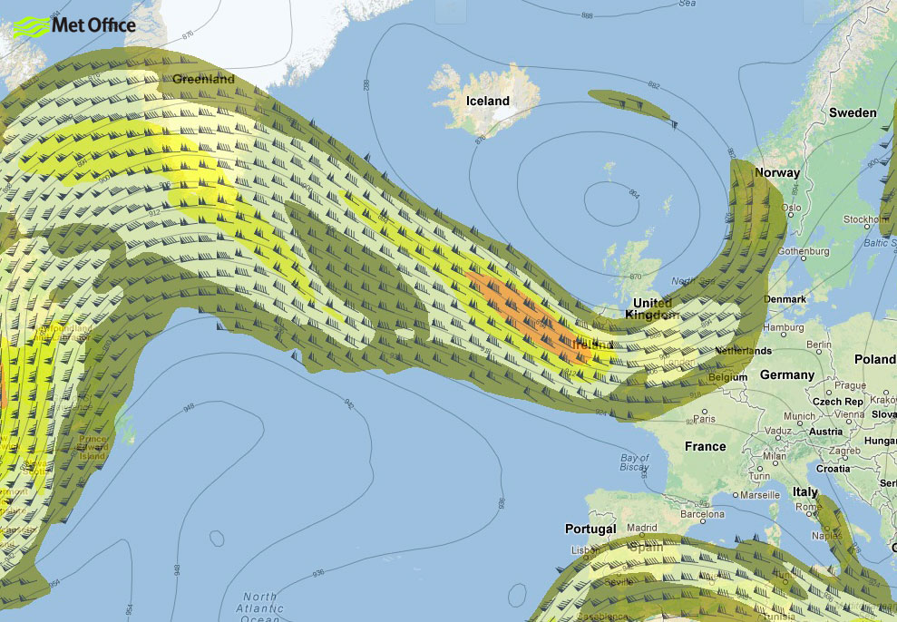 The Jet Stream And Why Its Too Early To Writeoff Summer - Us jet stream forecast map