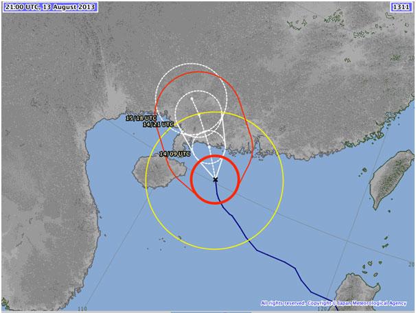 Typhoon Utor
