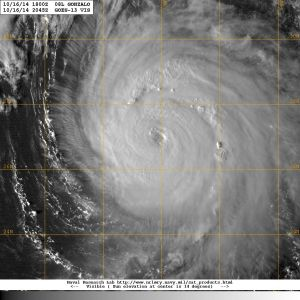 Hurricane Gonzalo 16.10.14
