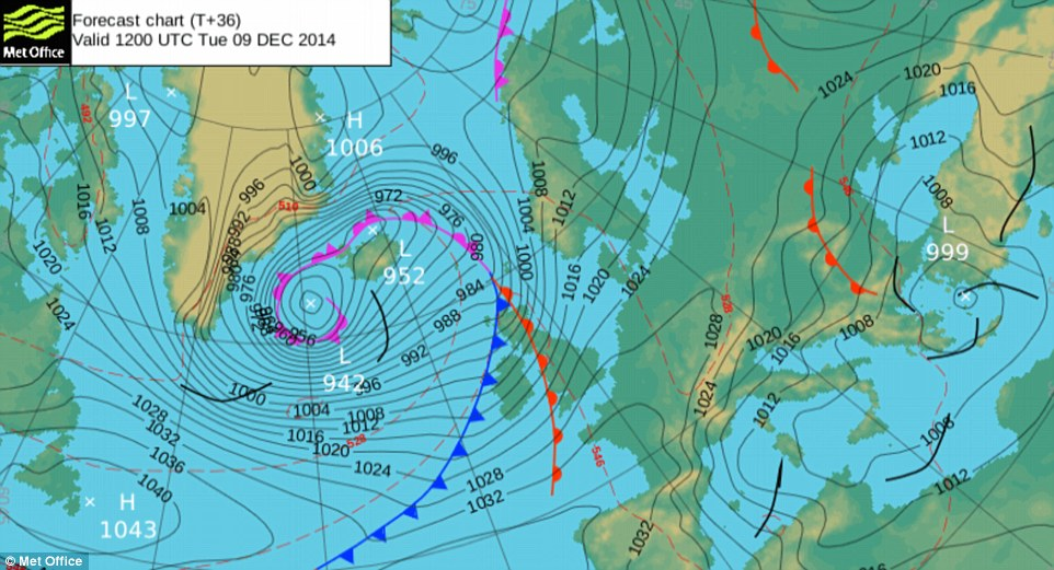A Closer Look At Weather Bombs Official Blog Of The Met Office