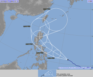 Track from Japan Meteorological Agency