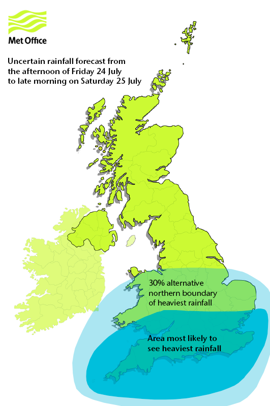 Forecast uncertainties 24-25-July