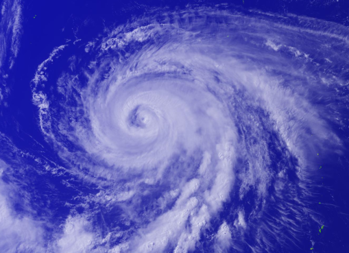 Typhoon Nangka on 13 July 2015. Image courtesy of The National Institute of Informatics