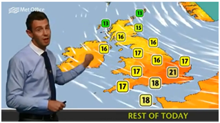 Win the chance to be a weather presenter for the day - Www met office weather forecast ...