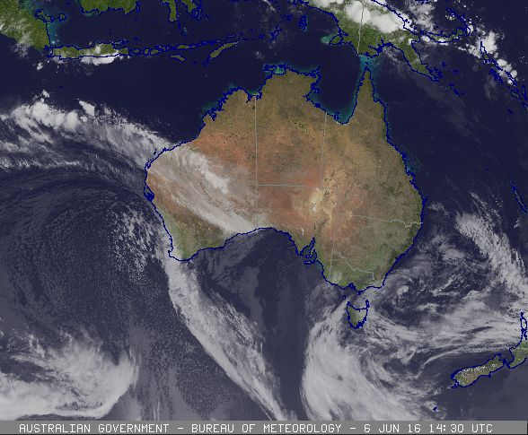 Image courtesy of the Australian Bureau of Meteorology
