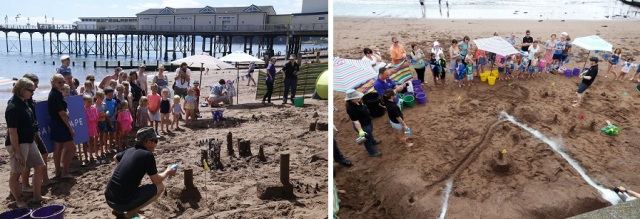Sandscape at Teignmouth 1