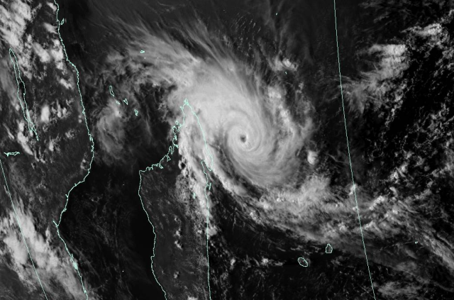Cyclone Enawo on 6 March 2017