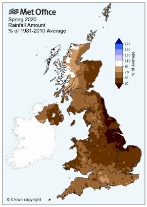Spring Rainfall 2020
