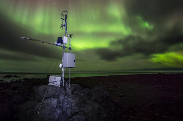 Arctic weather station